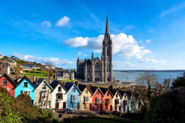 Cobh (formerly Queenstown) is situated on the south coast of Ireland in County Cork.