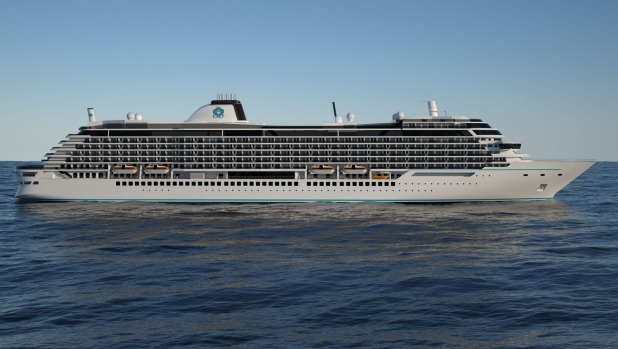 The first of Crystal Cruises' two new 800-passenger Diamond-class ships is due at the end of 2022.