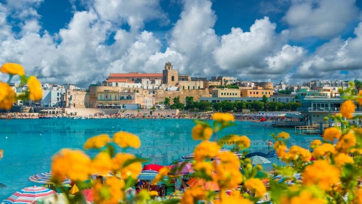 Otranto, one of the region's most historic port towns.