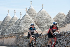 Cycling in Puglia is not a race.