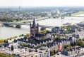 View of Cologne, Germany.
