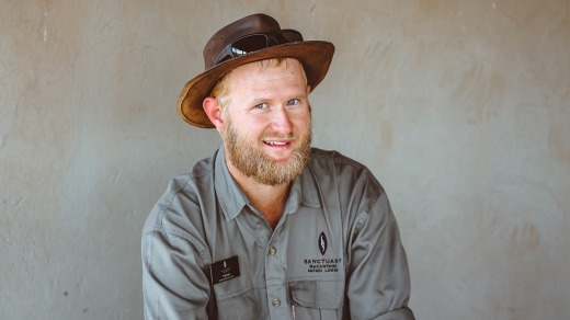Guide Trevor Robinson knows how to read the bush to find those details that really make a safari come alive.