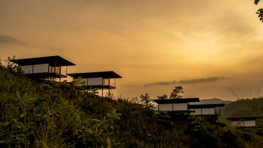 Immersed in nature: Santani Wellness Resort & Spa.