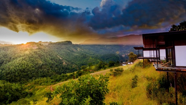 Deliberately secluded: Santani Wellness Resort & Spa is situated on half a square kilometre of forested former tea ...