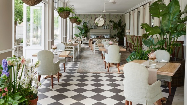 The Mount Nelson is a hotel where it pays to explore.