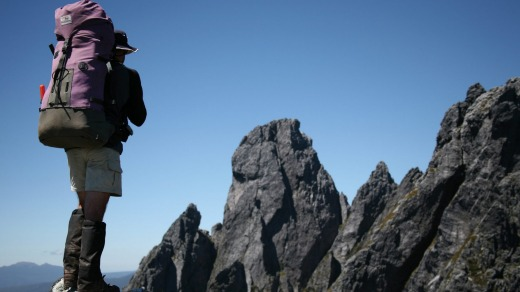 The walk to the mountain alone is one of the most notorious in Tasmania.