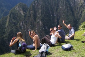 Ben Groundwater's South America tour group back in 2006.