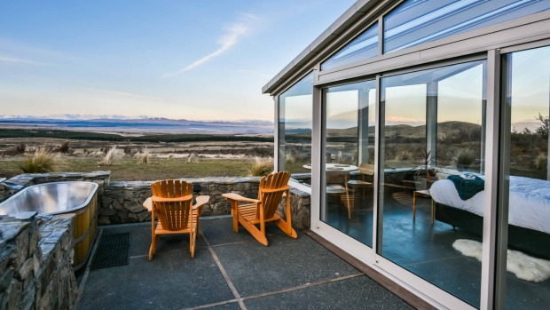 Skyscape is solar powered and completely off the grid.
