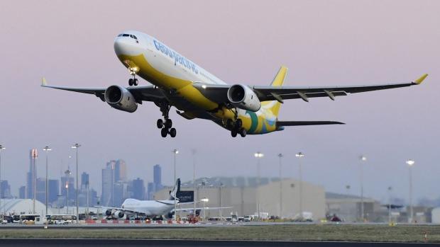 Cebu Pacific entered the Australian market in 2014.
