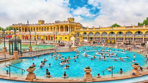 Szechenyi Baths in Budapest. Thanks to the increased popularity of river cruising, the hordes are slowly discovering ...