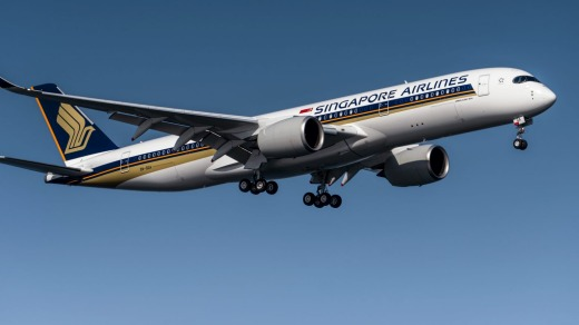 Singapore Airlines' first non-stop flight to New York was in a new Airbus A350-900 ULR.