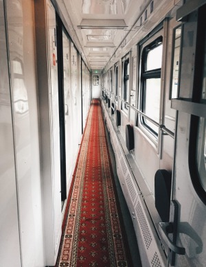 Inside the train, which offers a thrill to old-school travel that pomp and grandeur can never match.