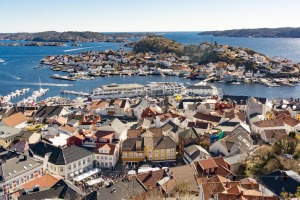 Kragero, on the edge of the 490-island Kragero archipelago, is a popular summer holiday getaway 194 kilometres from Oslo.