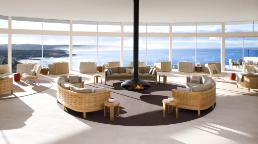 Southern Ocean Lodge had regularly been rated one of the best hotels in the world since its launch in 2008.