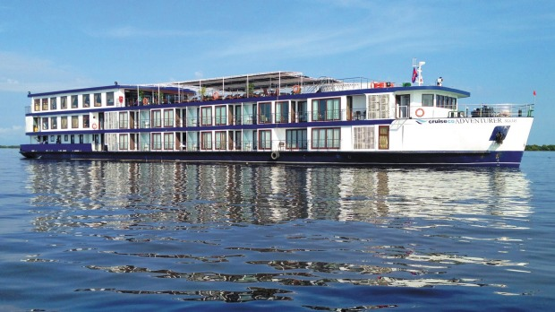 RV Cruiseco Adventurer was purpose built for cruising the Mekong River.