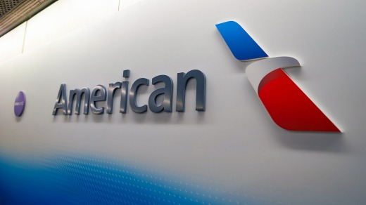 """The new, referred to as """"the Flight Symbol,"""" blends red and blue elements to represent the tail of a plane, with the ..."""
