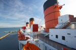 The Queen Mary has become one of Long Beach's most-visited tourist attractions with about 1.5 million visitors each year.