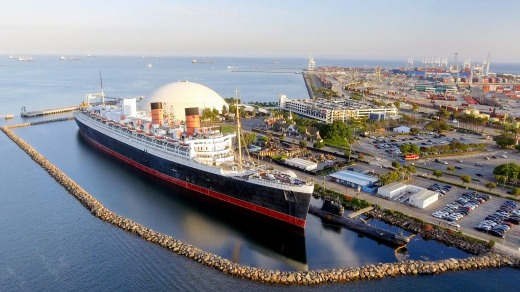 The Queen Mary has been at Long Beach, California since 1971.
