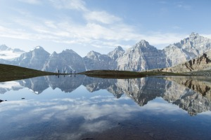 Banff National Park has a subarctic climate with cold, snowy winters and mild summers.
