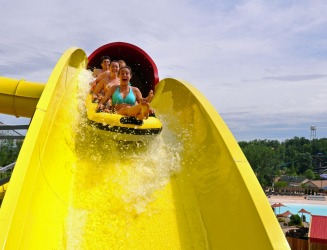 SPLASHIN' SAFARI, SANTA CLAUS This improbably named Indiana town has terrestrial thrills at Holiday World and water ones ...