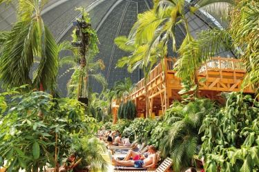 TROPICAL ISLANDS, KRAUSNICK This gargantuan greenhouse, 60 kilometres from Berlin, keeps the temperature here at a balmy ...