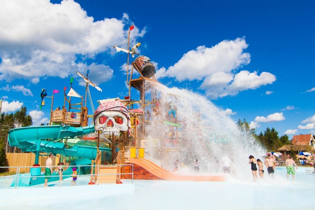 CALYPSO WATER PARK, CANADA Canada's largest water park boasts the country's largest wave pool and one of North America's ...