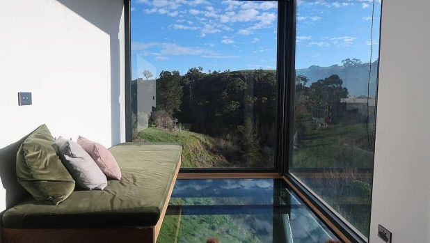 Clifftop at Hepburn's new villas are constructed from converted shipping containers.