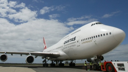 Qantas' six Boeing 747s are to be retired immediately, six months ahead of schedule.
