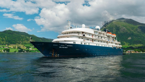 Scenery, and a sombre slice of history, while cruising Norway.