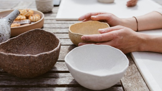 Richilde Flavell from Girl Nomad Ceramics will be offering hands-on experiences for the public to create their own bowls ...