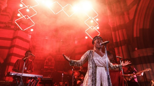 Sampa The Great at 'The Cathedral' during the MMW 2017.