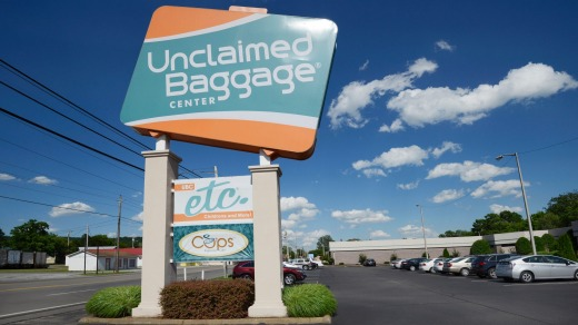 Unclaimed Baggage Centre in Scottsboro, Alabama.