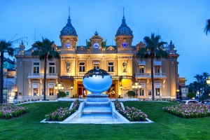 The Belle Epoque architecture of the Casino de Monte Carlo.