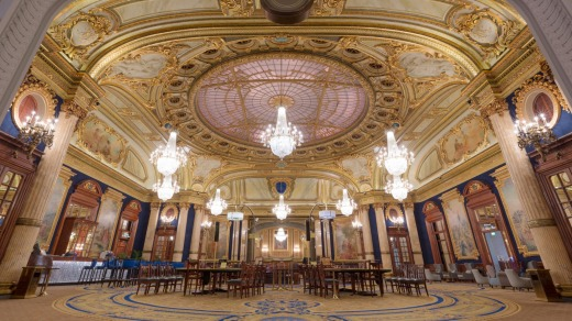 The European Room at the Casino de Monte Carlo.