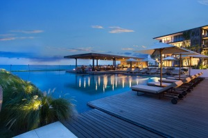 The modern Alila Seminyak is a step up from the more rustic aesthetic at Alila Manggis.