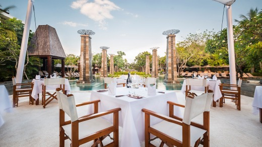 One of the restaurants at Sofitel Nusa Dua.