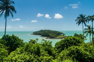 Ile du Diable (Devil's Island) in French Guiana was made famous by the French national scandal known as the Dreyfuss Affair.