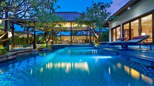 The award-winning Trans Resort Bali in Seminyak.