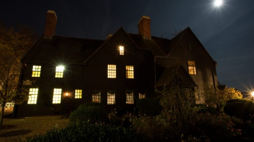 The House of the Seven Gables, Salem.