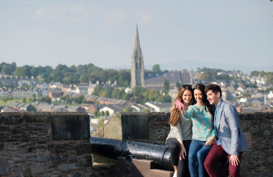 Derry City Walls, Derry-Londonderry.