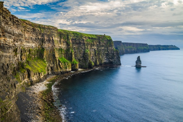 Cliffs of Moher, Co. Clare, Ireland.