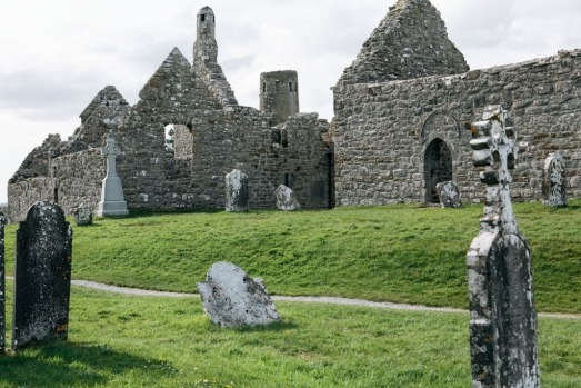 Clonmacnoise is an ancient monastic site near Shannonbridge, County Offaly. Founded by St Ciaran in the mid-6th century, ...