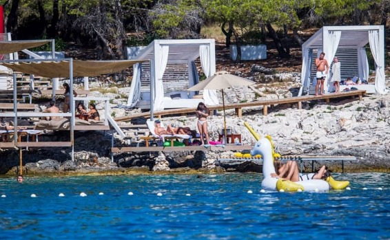 CARPE DIEM BEACH, CROATIA: Croatia's island-studded coastline is home to some super-cool beach clubs, and Carpe Diem ...