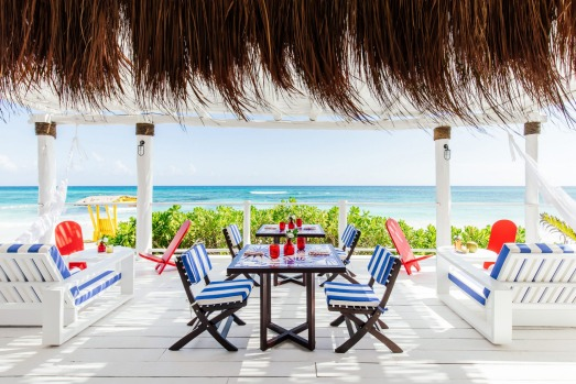 MISTURA, MEXICO: Perched on Mexico's scenic Caribbean coast, the beachside town of Tulum has become something a hotspot ...