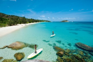 Just one of many ways to pass the time on Lizard Island.