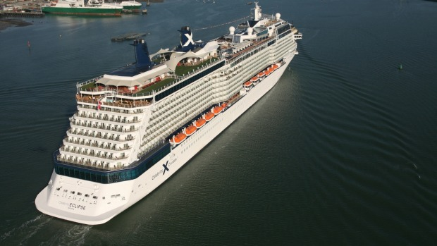 Celebrity Eclipse is bound for Melbourne.