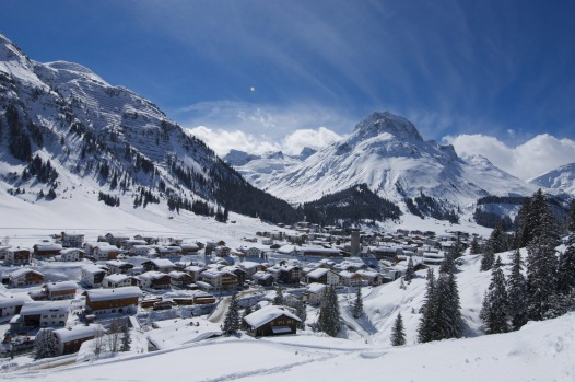 LECH: Though connected with St Anton on a series of exhilarating runs over several mountains, Lech has a quite different ...