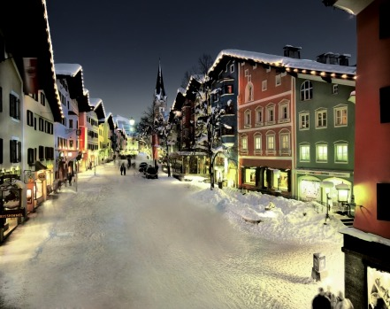 KITZBÃœHEL: This is a resort for middle-aged fashionistas keen to sit in fur coats on cafe terraces, shop in the pretty ...