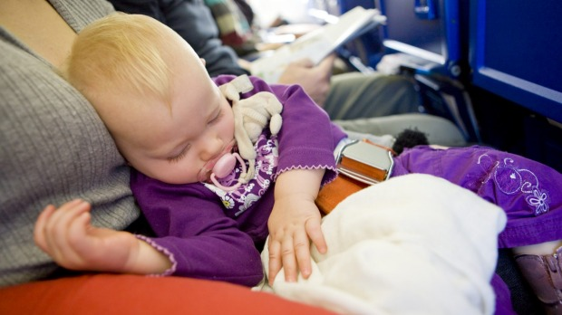 "Get an extra seat: ""Typically a child is more comfortable in their own seat instead of being constantly readjusted in a ..."