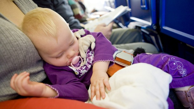 Parents and babies have a right to fly on planes.